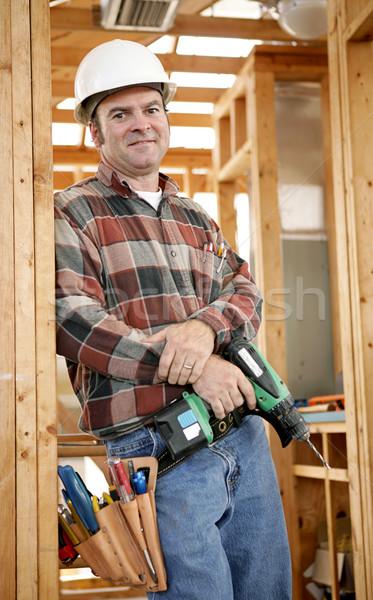 Foto stock: Pronto · trabalhar · bonito · ferramentas · autêntico