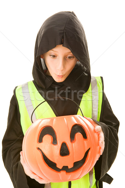 Safe Trick Or Treater Eyes Candy Stock photo © lisafx