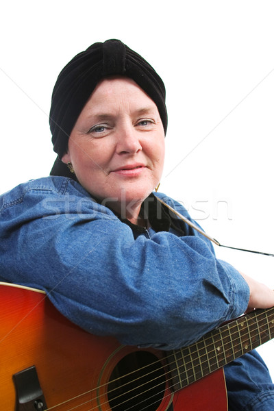 Courageous Cancer Survivor Stock photo © lisafx