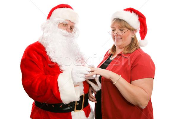 Gift For Mrs Santa Claus Stock photo © lisafx