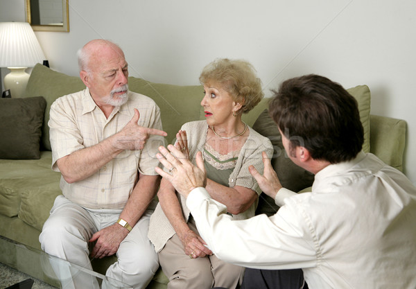 Counseling - Stop Arguing Stock photo © lisafx