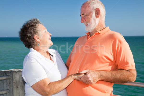 Stock photo: Romantic Senior Getaway