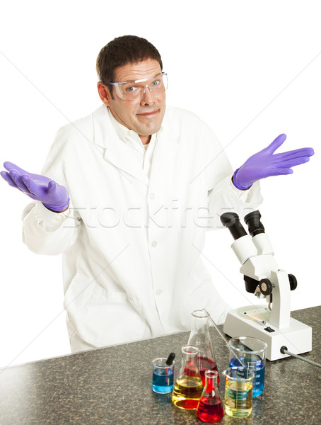 Scientist Gives Up Stock photo © lisafx