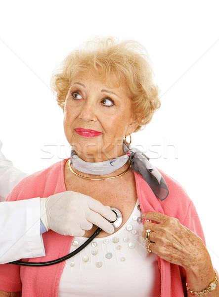 Senior Medical Checkup Stock photo © lisafx