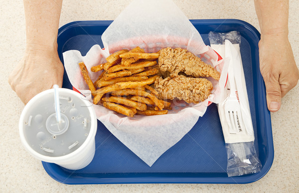 Fast Food Meal Stock photo © lisafx
