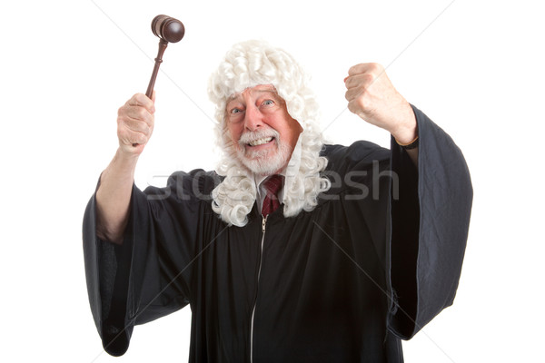 British Judge Frustrated and Angry Stock photo © lisafx