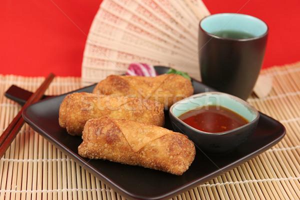 Stok fotoğraf: Çin · yumurta · çay · sahanda · yumurta