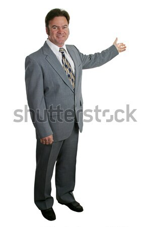Businessman or Realtor Complete 1 Stock photo © lisafx