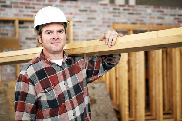 Construction Laborer Stock photo © lisafx
