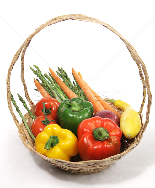 Harvest Fresh Veggies Stock photo © lisafx