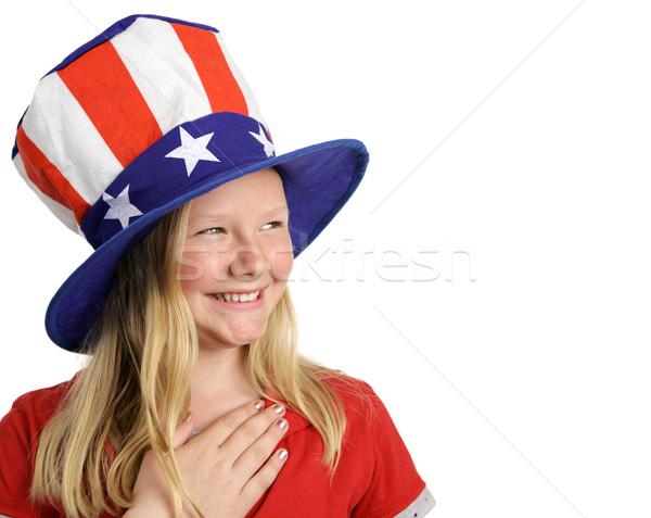 Pledge of Allegiance Stock photo © lisafx