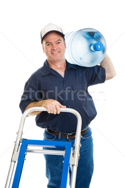 Water Delivery - Cheerful Stock photo © lisafx