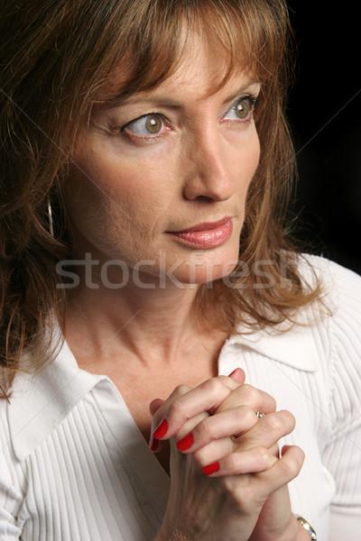 Woman Of Faith Stock photo © lisafx