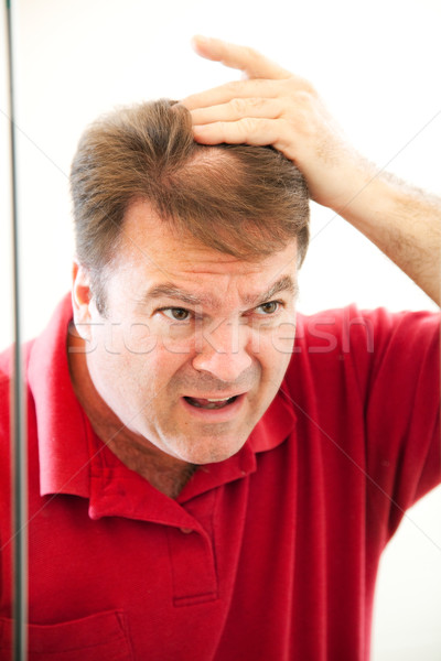 Mature Man with Bald Patch Stock photo © lisafx