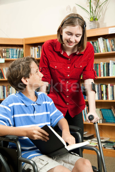 Stock photo: Students with Disabilities
