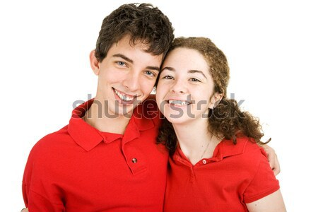 High School Sweethearts Stock photo © lisafx