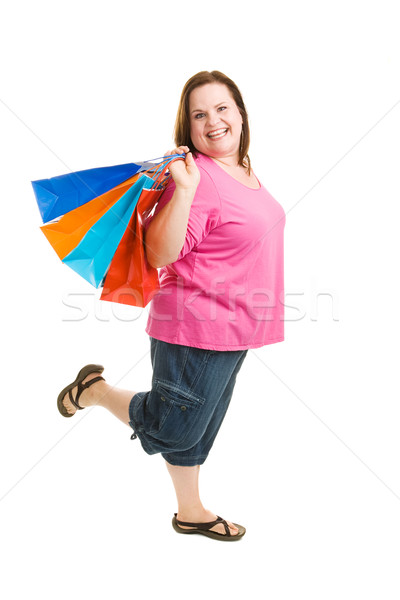Shopping Excitement Stock photo © lisafx