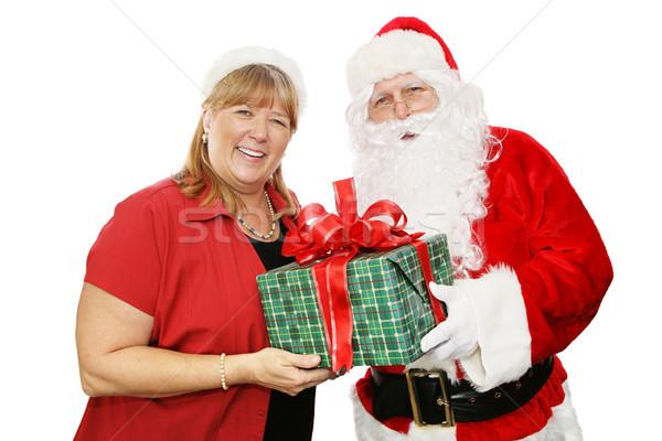 Santa and His Wife Stock photo © lisafx