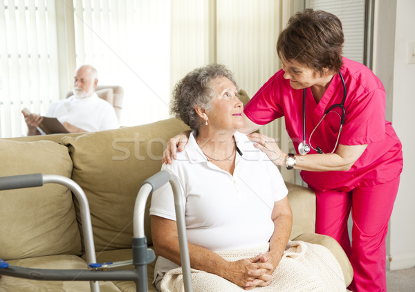 Nursing Home Care Stock photo © lisafx