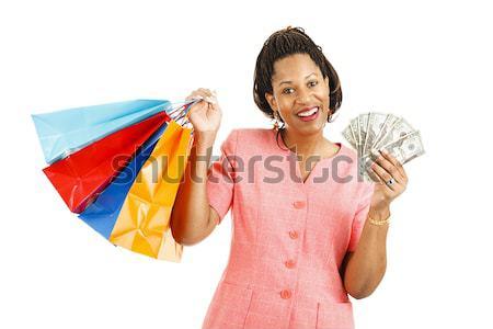 Cash for Shopping Spree Stock photo © lisafx
