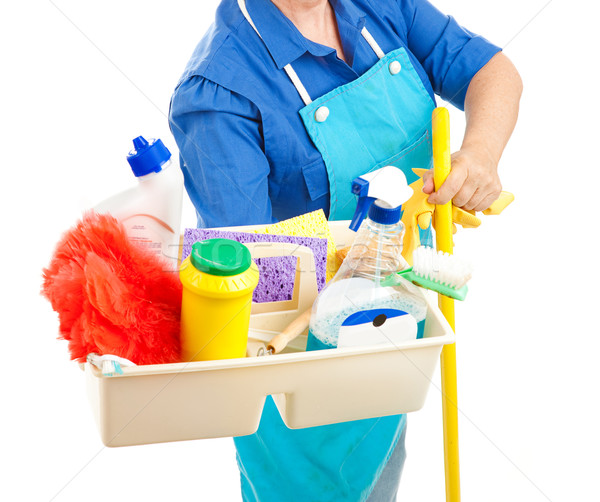 Cleaning Supplies Stock photo © lisafx