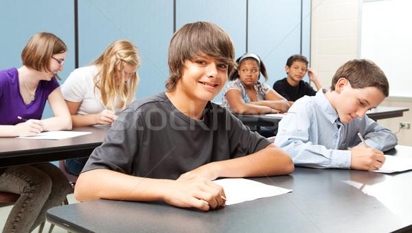 学校 子供 クラス 広い バナー ストックフォト © lisafx