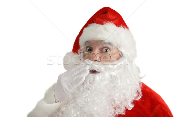 Santa Claus - Found Out Stock photo © lisafx