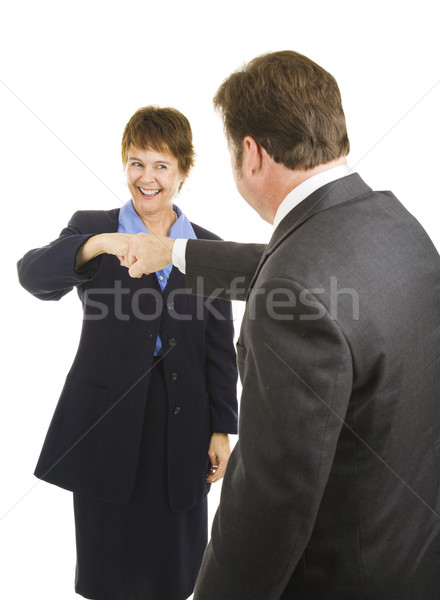 Business People Fist Bump Stock photo © lisafx