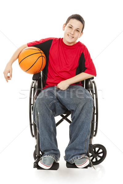 Disabled Teen Athlete Stock photo © lisafx