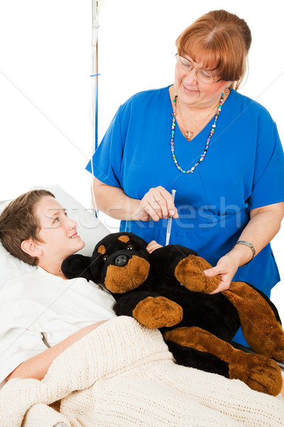 Injections Don't Hurt Stock photo © lisafx