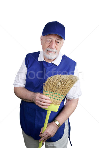 Senior Worker - Depressed Stock photo © lisafx