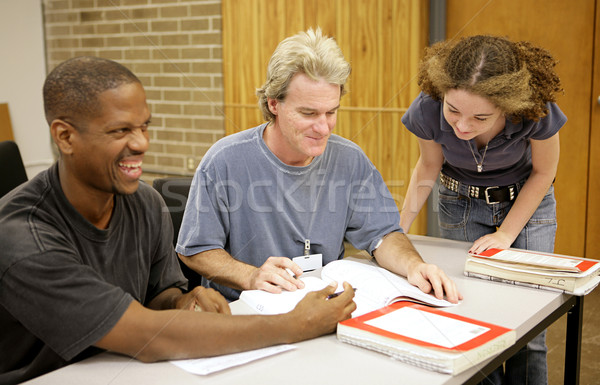 Adult Ed - Student Diversity Stock photo © lisafx