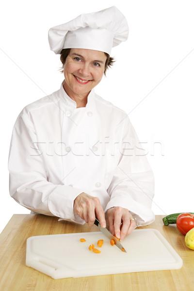 Chef Series - Friendly Stock photo © lisafx
