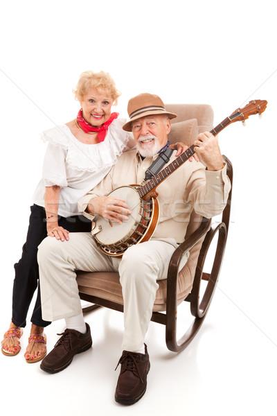Country Music Seniors Stock photo © lisafx