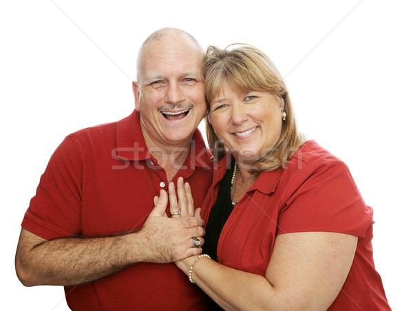 Happy Couple Laughig Stock photo © lisafx