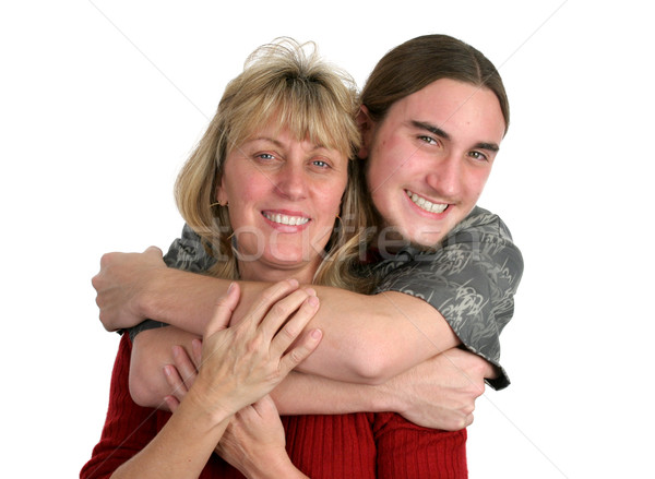 Teen Boy & His Mom Stock photo © lisafx