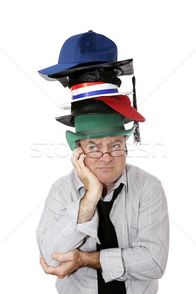 Too Many Hats Stock photo © lisafx