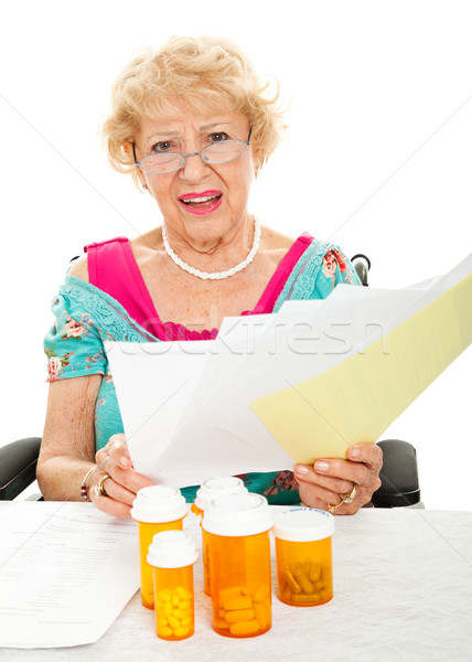 High Cost of Prescription Drugs and Medical Care Stock photo © lisafx