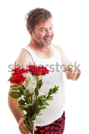 Valentine Roses for You Stock photo © lisafx