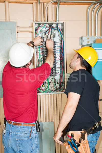 Changing Circuit Breaker Stock photo © lisafx