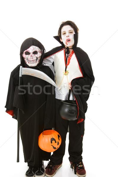 Stock photo: Halloween Kids - Monsters