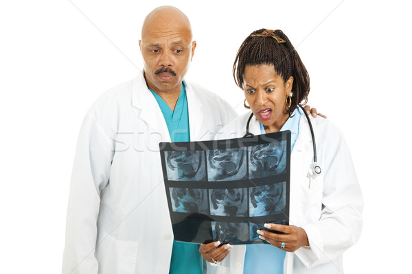 CT Scan - Bad News Stock photo © lisafx