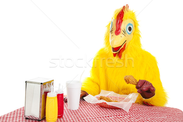 Eat More Chicken Stock photo © lisafx
