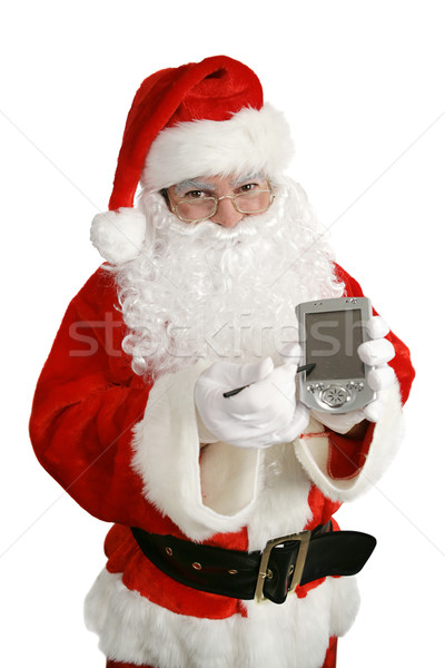 Santa With Message  Stock photo © lisafx