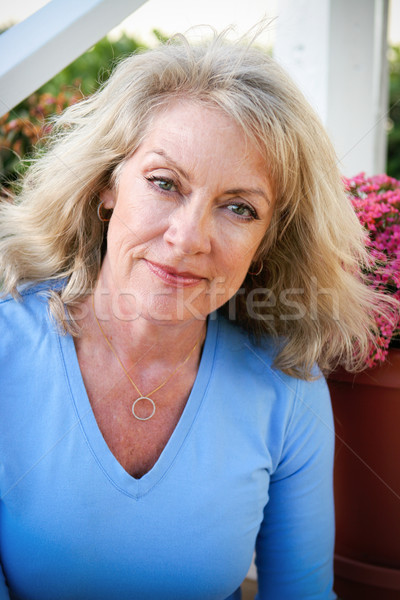 Beautiful Middle-Age Woman Stock photo © lisafx