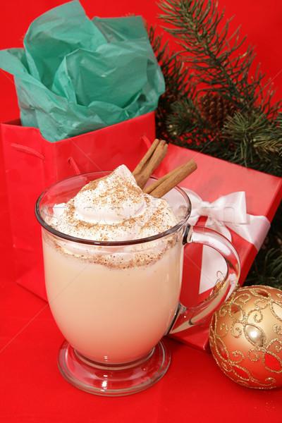 Christmas Eggnog Stock photo © lisafx