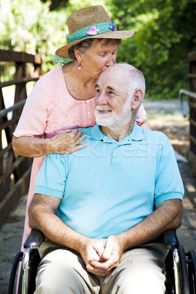 Senior Caretaker Stock photo © lisafx