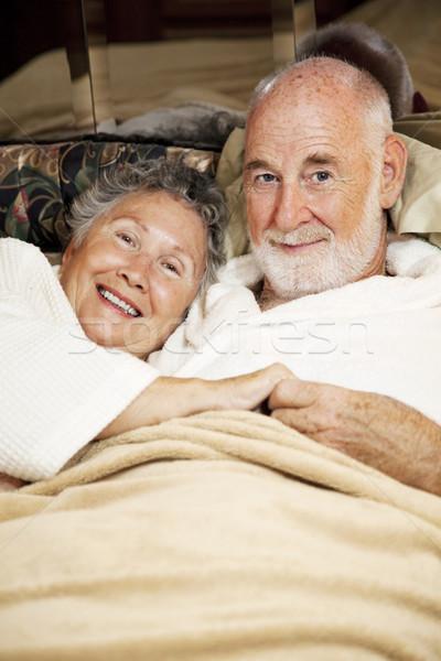 Sleepy Seniors Stock photo © lisafx