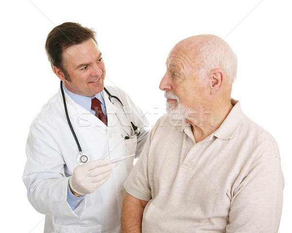 Senior Medical - Temperature Normal Stock photo © lisafx