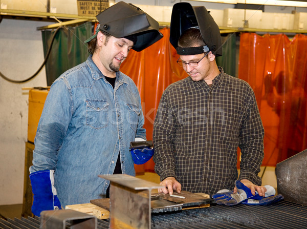 Welders Discussing the Job Stock photo © lisafx